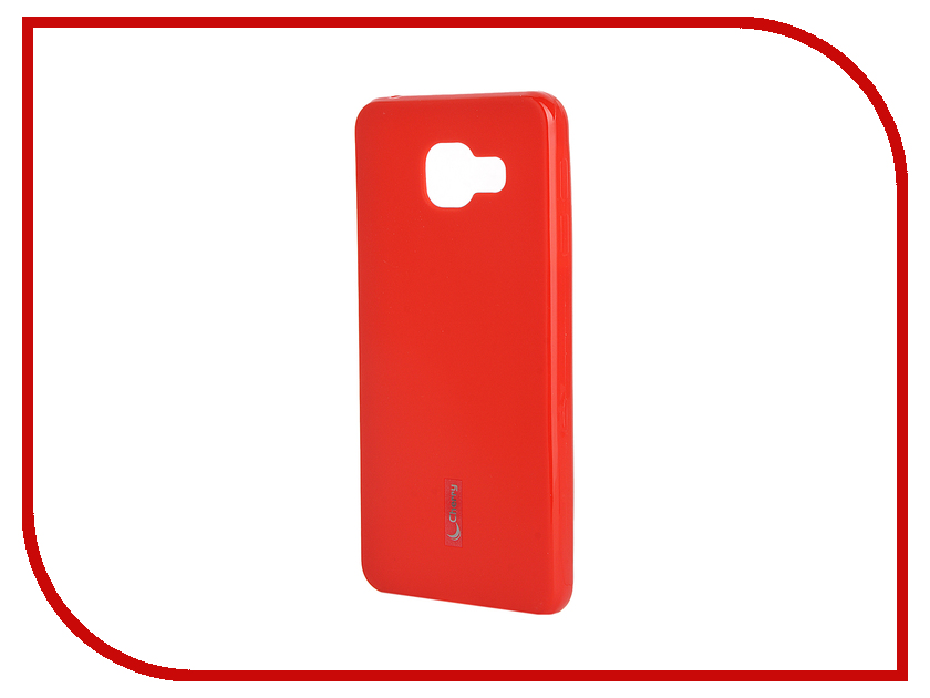 Аксессуар Чехол-накладка Samsung Galaxy A3 2016 Cherry Red 9327<br>