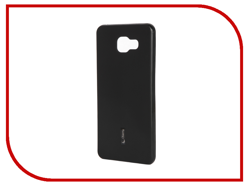 Аксессуар Чехол-накладка Samsung Galaxy A5 2016 Cherry Black 9151<br>
