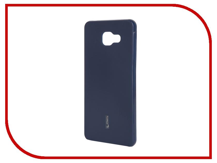 Аксессуар Чехол-накладка Samsung Galaxy A7 2016 Cherry Dark Blue 9283