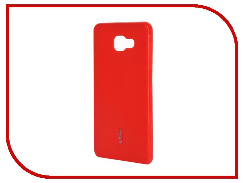 Аксессуар Чехол-накладка Samsung Galaxy A7 2016 Cherry Red 9282