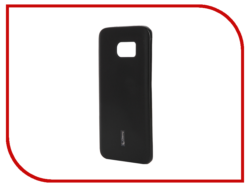 Аксессуар Чехол-накладка Samsung Galaxy S7 Edge G935F Cherry Black 9322<br>