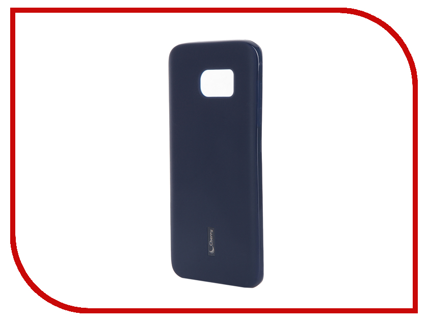 Аксессуар Чехол-накладка Samsung Galaxy S7 Edge G935F Cherry Dark Blue 9321<br>