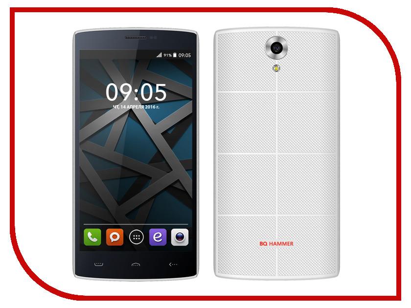 Сотовый телефон BQ BQS-5502 Hammer White<br>
