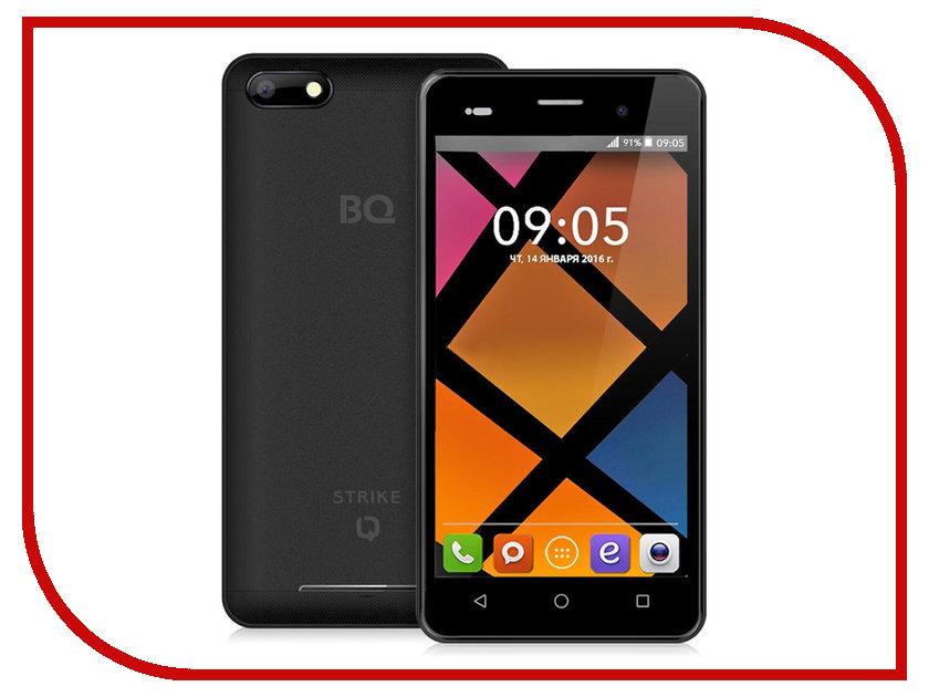 Сотовый телефон BQ BQS-5020 Strike Black смартфон bq mobile bqs 5020 strike black matt