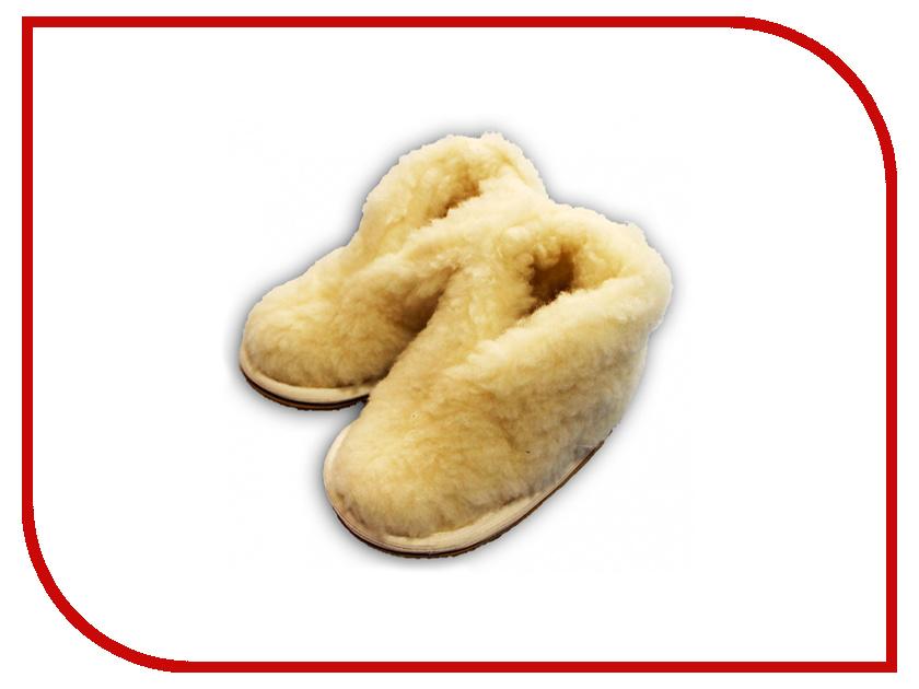 Ортопедическое изделие Smart Textile Бабуши из овечьего меха детские Н522 размер 24-25 Beige