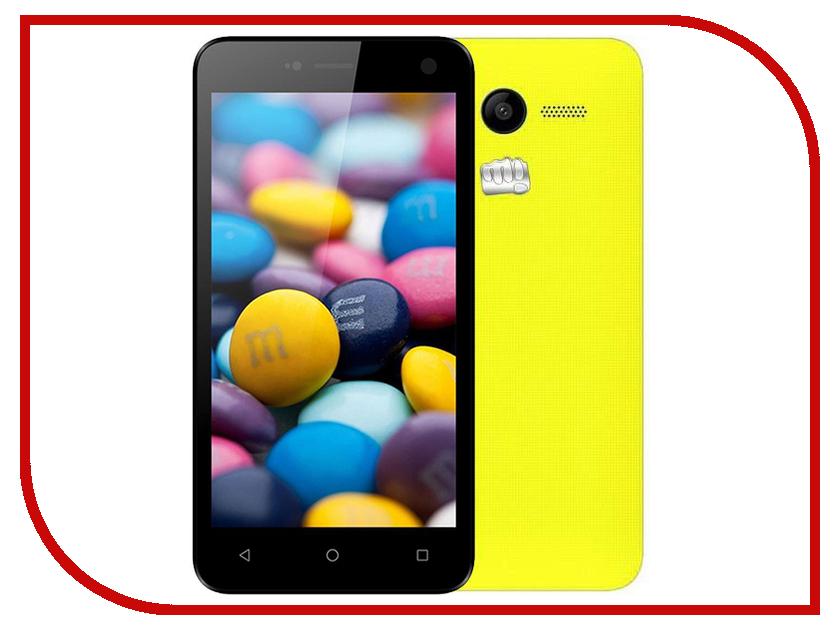 Сотовый телефон Micromax Bolt Q341 Yellow смартфон micromax bolt q379 yellow