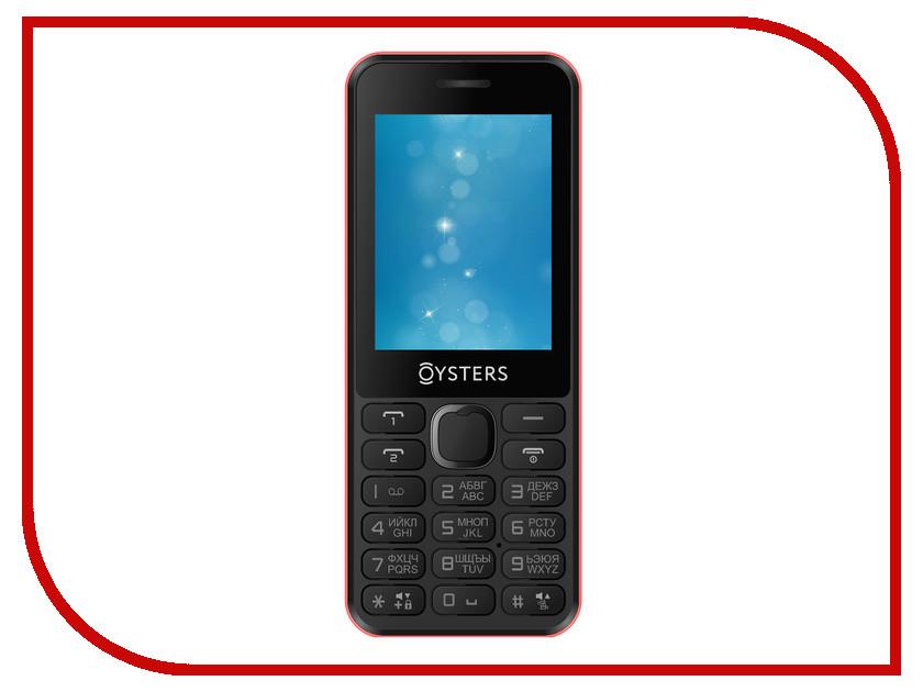 Сотовый телефон Oysters Novgorod Red