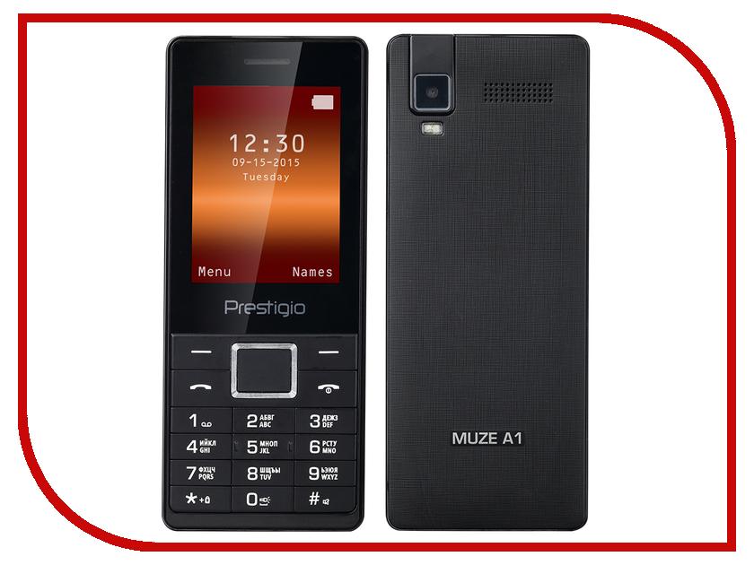 Сотовый телефон Prestigio Muze A1 PFP1241DUO Black сотовый телефон prestigio wize g3 wine psp3510duowine