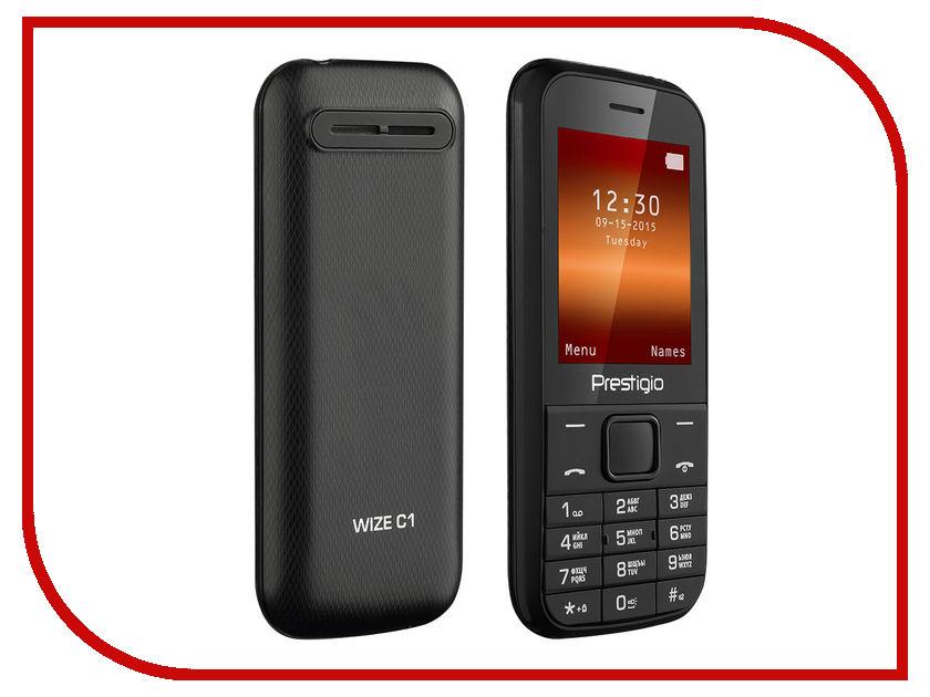 Сотовый телефон Prestigio 1240 Wize C1 Black PFP1240DUOBLACK