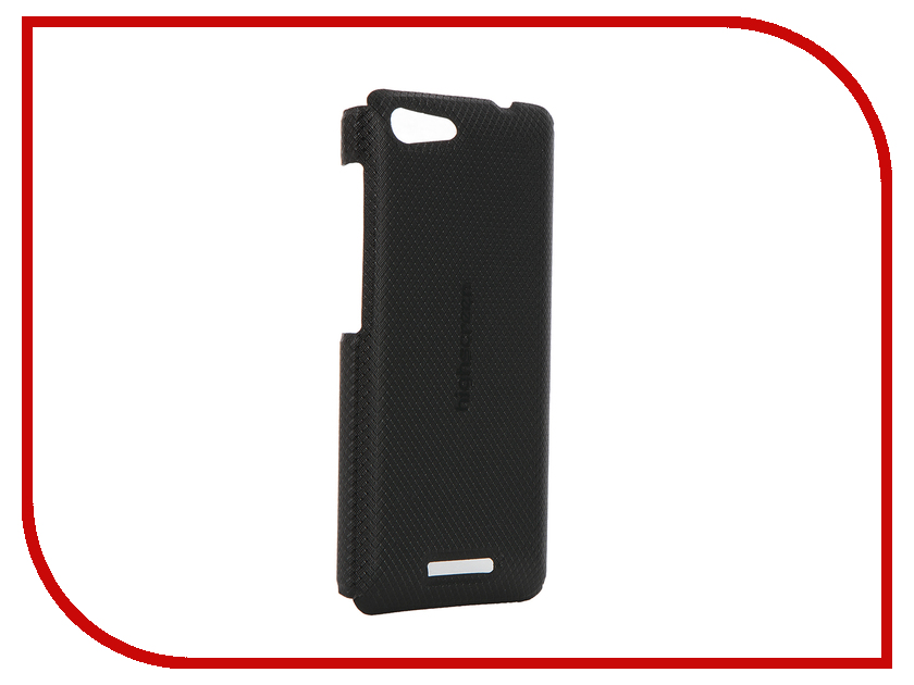Аксессуар Чехол Highscreen Power Rage Clip Case Black<br>