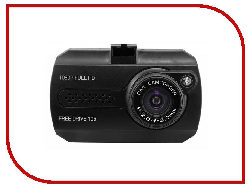 видеорегистраторы FreeDrive 105  Видеорегистратор Digma FreeDrive 105