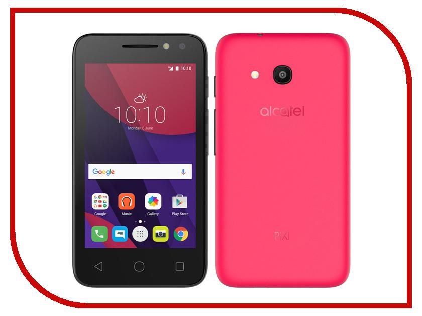 Сотовый телефон Alcatel OneTouch 4034D PIXI 4 (4) Neon Pink<br>