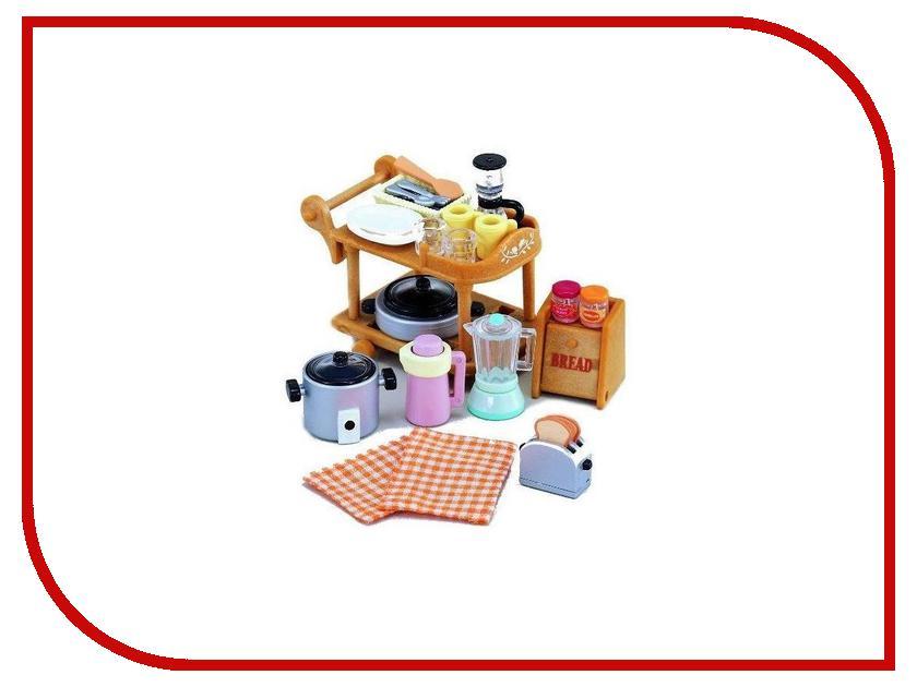 Игра Sylvanian Families Кухонная посуда 2819 красный лагерь на открытом воздухе кемпинга кухонная посуда кухонная посуда кухонная посуда 2 3 человек пикник посуда посуда teapot set