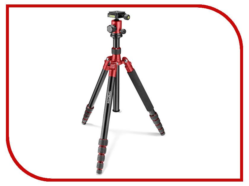 Штатив PrimaPhoto PHTRBRD Black-Red 84283<br>
