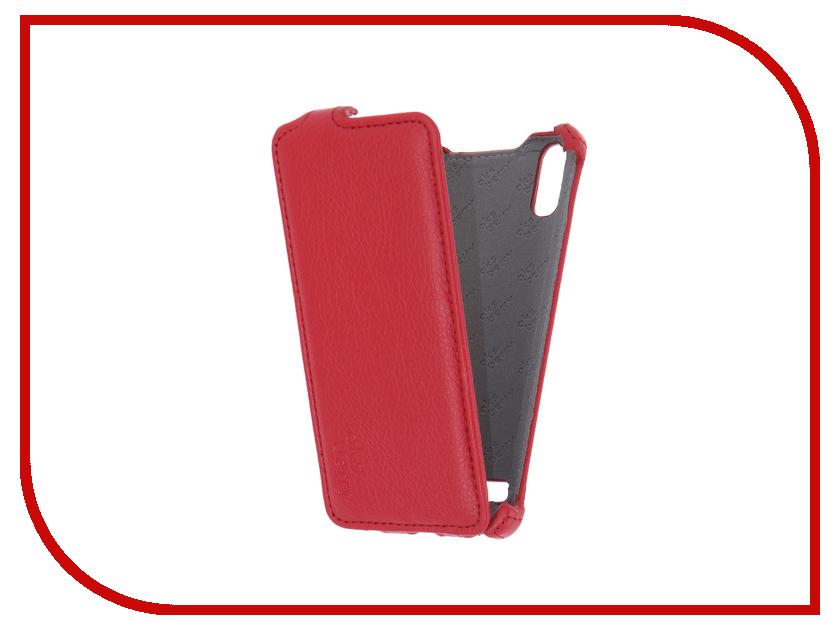 все цены на Аксессуар Чехол Lenovo A6010/A6010 Plus Aksberry Red онлайн