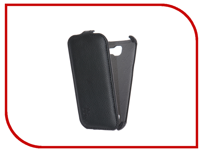 Аксессуар Чехол LG K130E K4 LTE Aksberry Black<br>