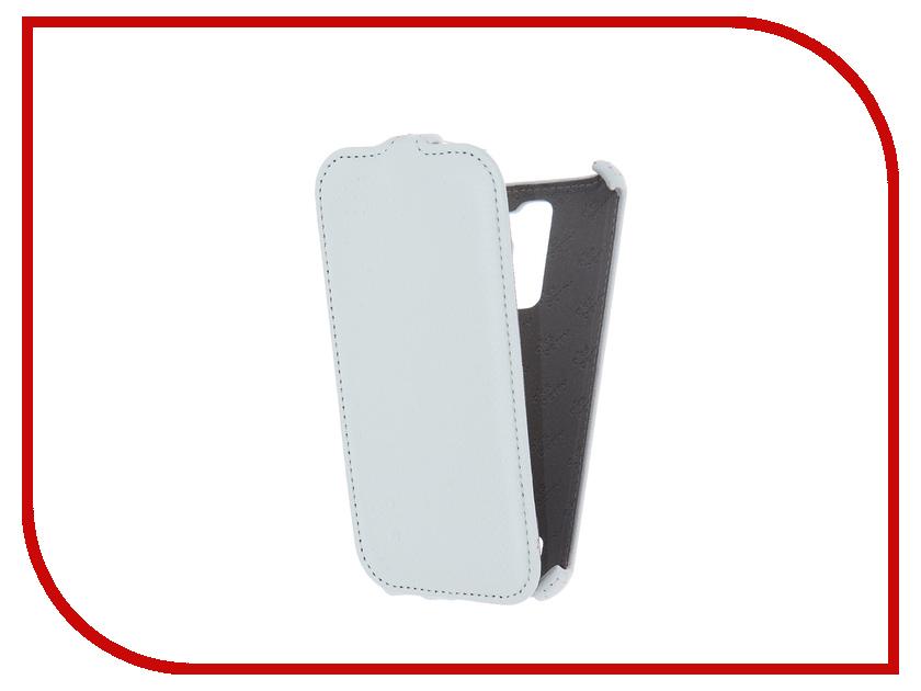 Аксессуар Чехол LG K410/430DS K10 3G/LTE Aksberry White<br>