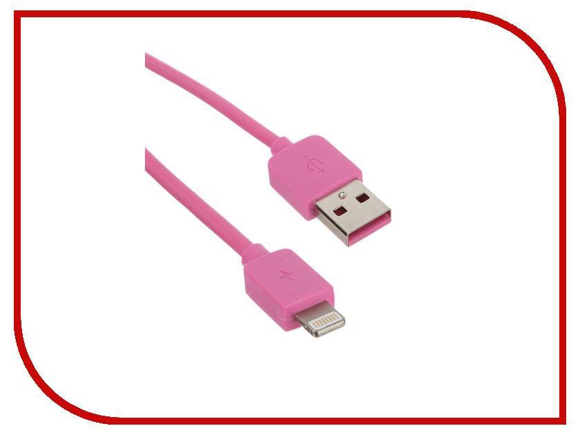 Аксессуар Remax USB - Lightning Light Speed Series RC-006i для iPhone 6/6 Plus 1.5m Pink 14336