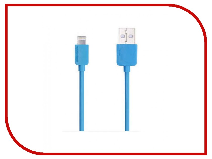 Аксессуар Remax USB - Lightning Light Speed Series RC-006i для iPhone 6/6 Plus 2m Blue 14340