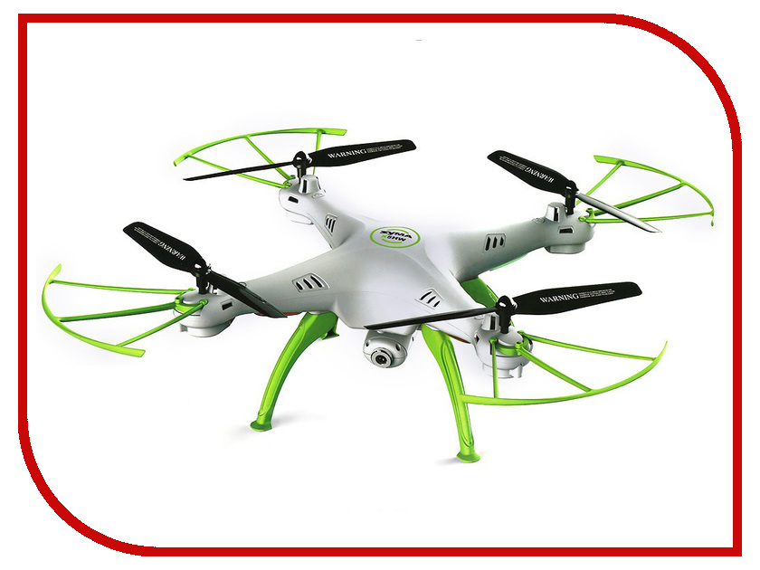 Квадрокоптер Syma X5HC White spare parts for syma x5c syma x5 blades rc drone propeller blade propeller protectors frame landing skid