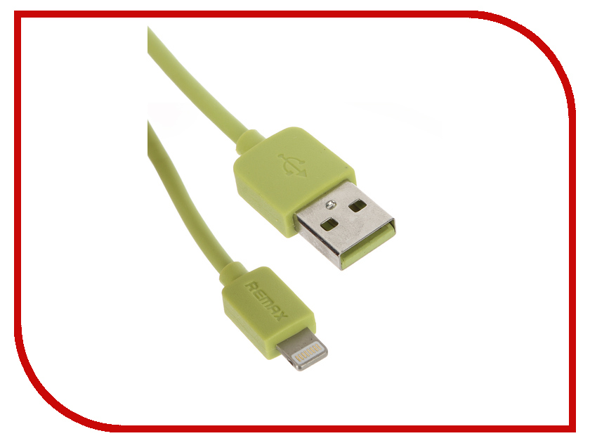 Аксессуар Remax USB - Lightning Light Speed Series RC-006i для iPhone 6/6 Plus 1.5m Green 14339