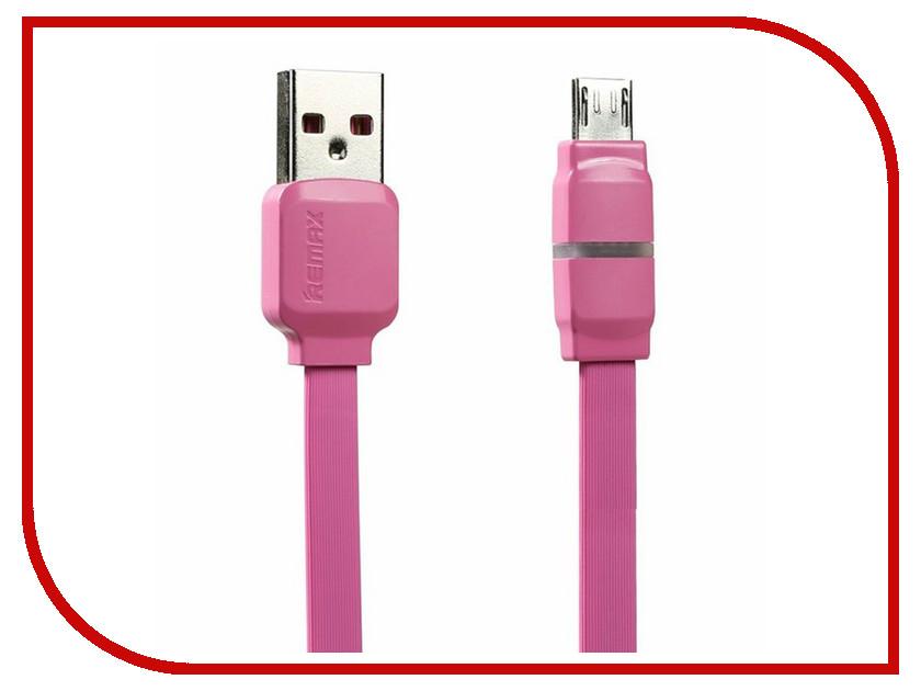 Аксессуар Remax USB - MicroUSB Breathe RC-029m 1m Pink 14378