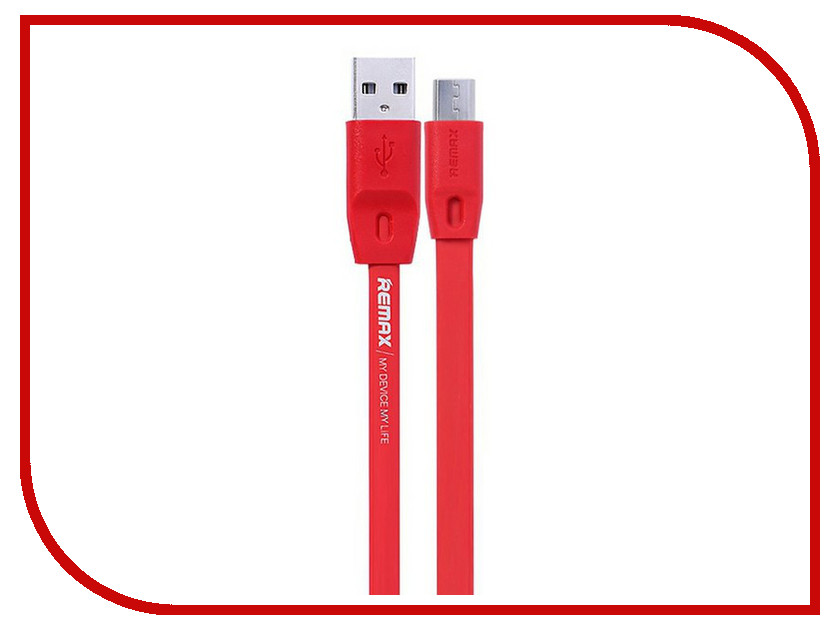 Аксессуар Remax USB - MicroUSB Full Speed 2m Red 14360 аксессуар remax usb microusb full speed 2m red 14360