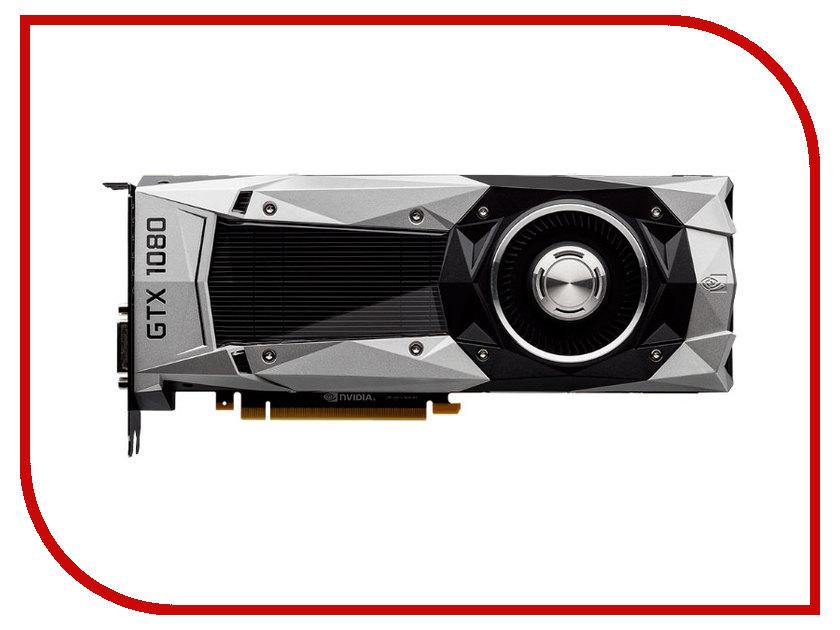 Видеокарта GigaByte GeForce GTX 1080 1607Mhz PCI-E 3.0 8192Mb 10000Mhz 256 bit DVI HDMI HDCP GV-N1080D5X-8GD-B видеокарта gigabyte geforce gtx 750ti 2g