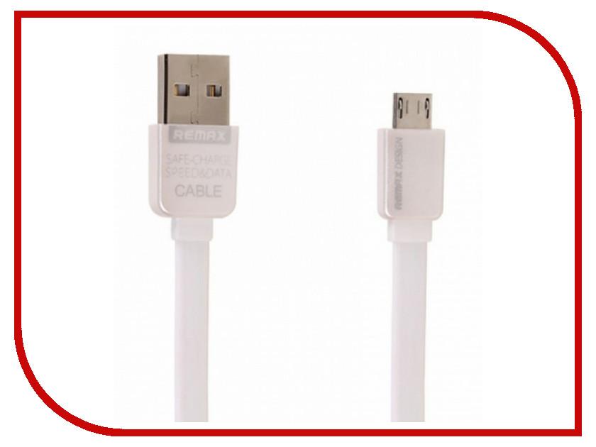 Аксессуар Remax USB - MicroUSB Kingkong 1m White 14422<br>
