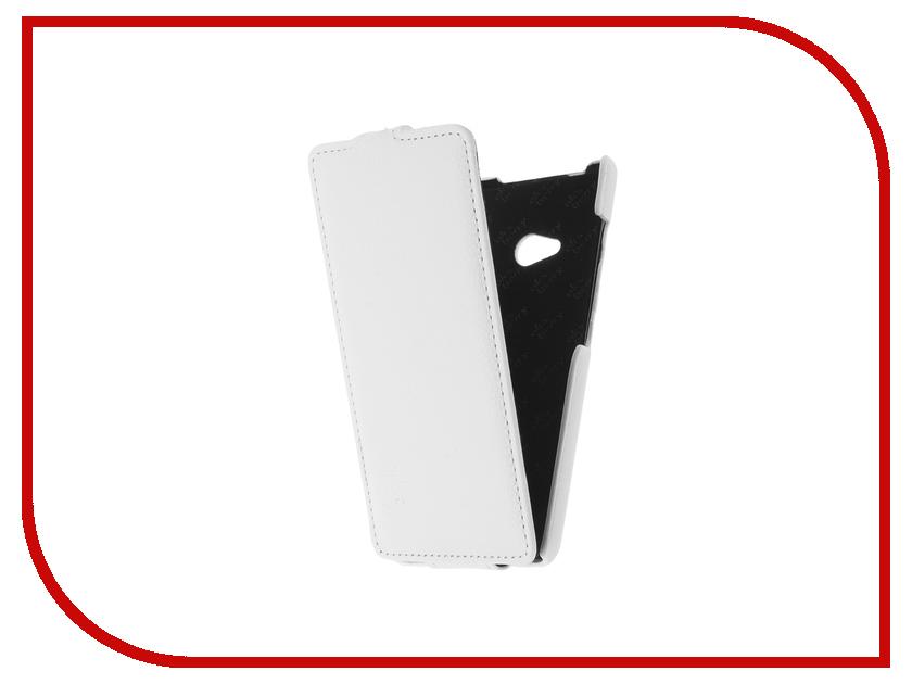 Аксессуар Чехол Microsoft Lumia 540/540 dual sim Aksberry White
