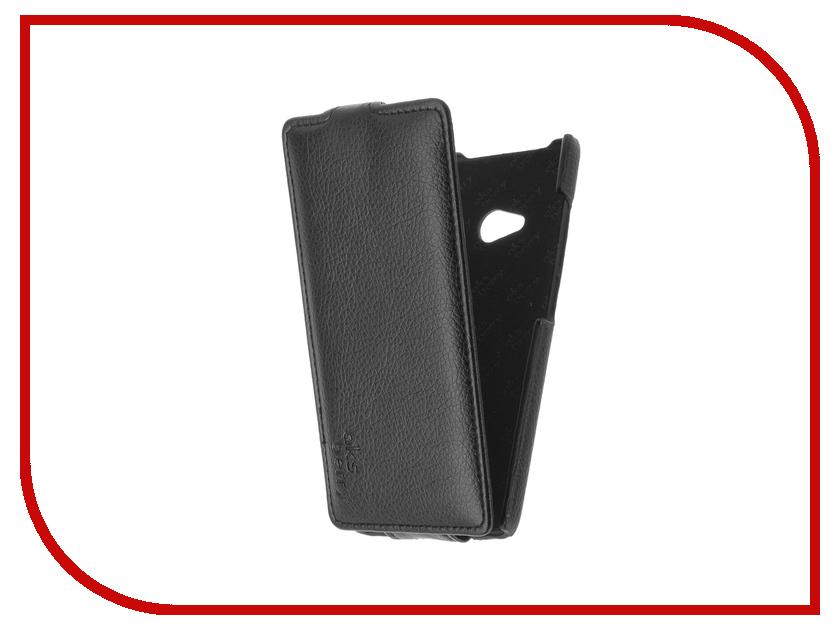 Аксессуар Чехол Microsoft Lumia 540/540 dual sim Aksberry Black