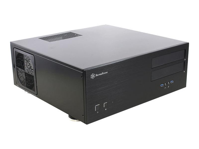 Корпус SilverStone Case Ss Grandia GD08B Black SST-GD08B