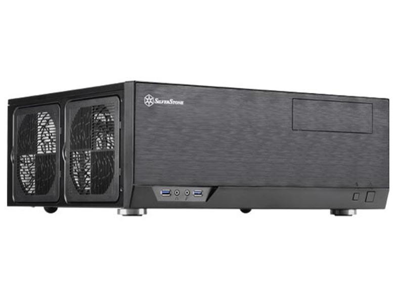 Корпус SilverStone Case Ss Grandia GD09B Black SST-GD09B все цены