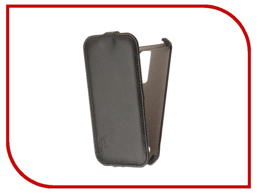 Аксессуар Чехол LG X210DS K7 3G Aksberry Black аксессуар чехол аккумулятор aksberry 2800 mah для iphone 7 black onyx