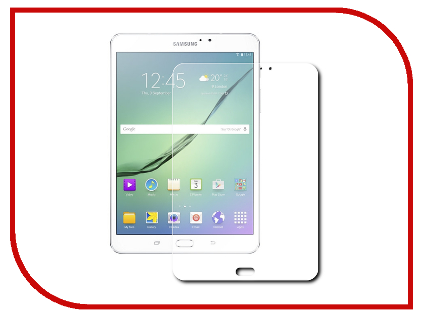 Аксессуар Защитное стекло Samsung SM-T710/T715 Galaxy Tab S2 8 Aksberry