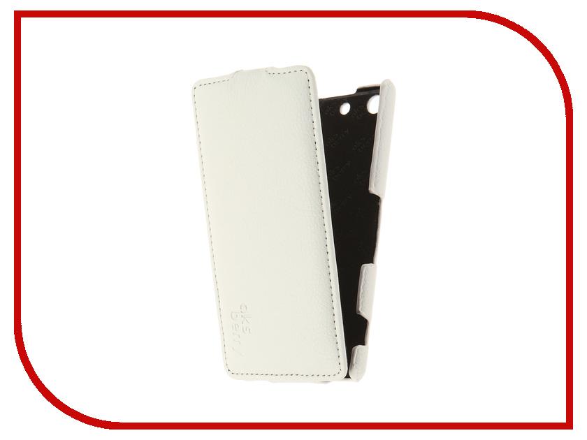 Аксессуар Чехол Sony Xperia M5/M5 Dual Aksberry White