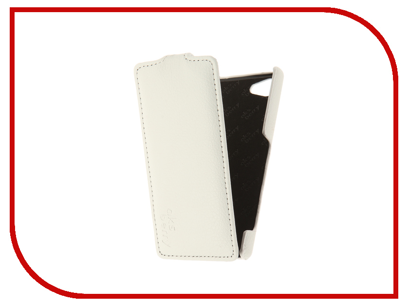 Аксессуар Чехол Sony Xperia Z5 Compact Aksberry White