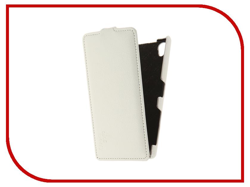Аксессуар Чехол Sony Xperia Z5 Premium Aksberry White