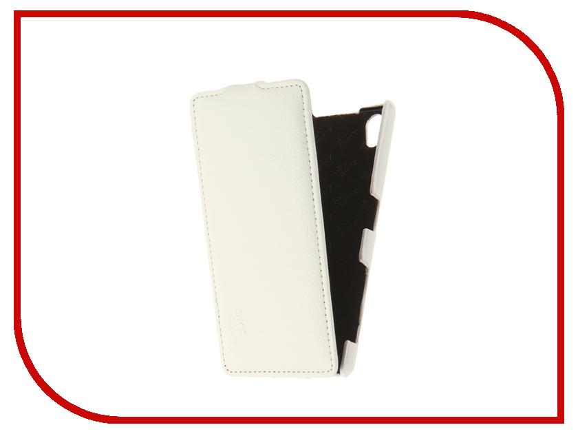 Аксессуар Чехол Sony Xperia Z5/Z5 Dual Aksberry White
