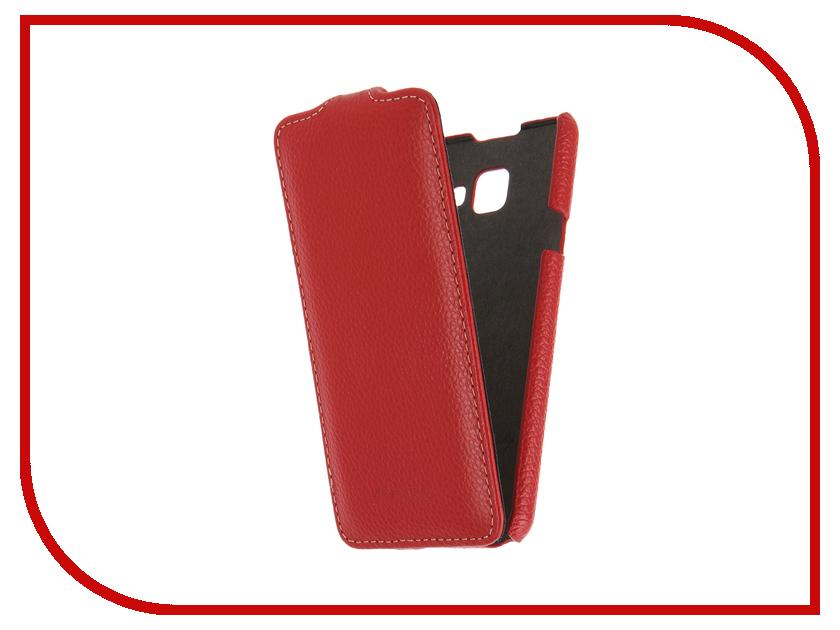Аксессуар Чехол Samsung Galaxy A3 (2016) Melkco Red LC 9375<br>