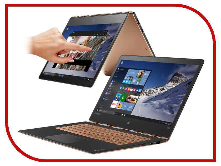 Ноутбук Lenovo Yoga 900 Gold 80ML005FRK Intel Core M7-6Y75 1.2 GHz/8192Mb/512Gb SSD/No ODD/Intel HD Graphics/Wi-Fi/Bluetooth/Cam/12.5/2560x1440/Windows 10<br>