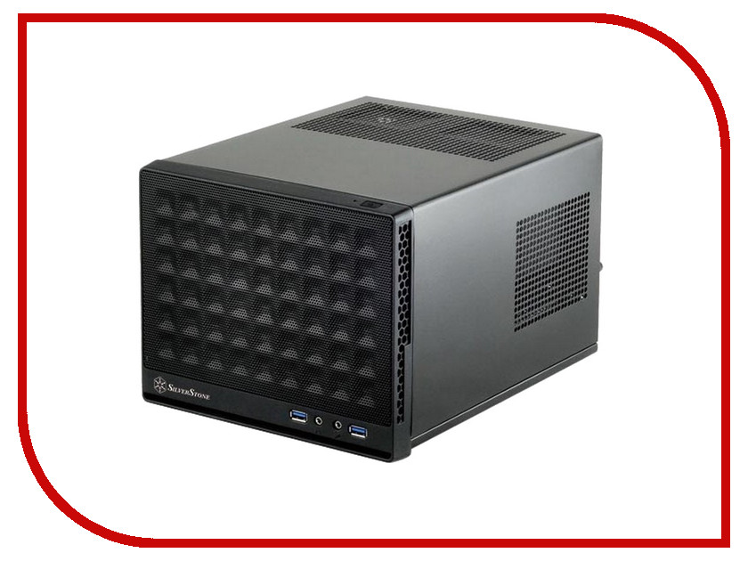 Корпус SilverStone Case Ss Sugo SG13B Black SST-SG13B<br>