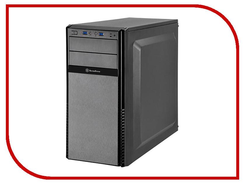 Корпус SilverStone Case Ss Precision PS11B-Q Black SST-PS11B-Q корпус atx silverstone precision ps11b q без бп чёрный