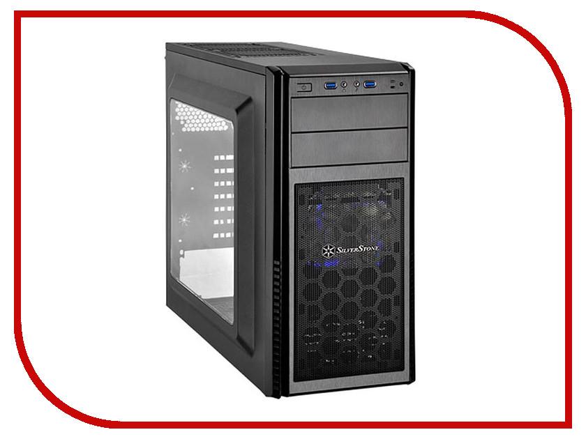 Корпус SilverStone Case Ss Precision PS11B-W Black SST-PS11B-W корпус silverstone case ss precision ps11b q black sst ps11b q