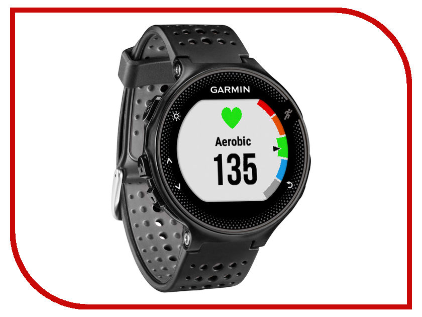 Умные часы Garmin Forerunner 235 Black Grey 010-03717-55