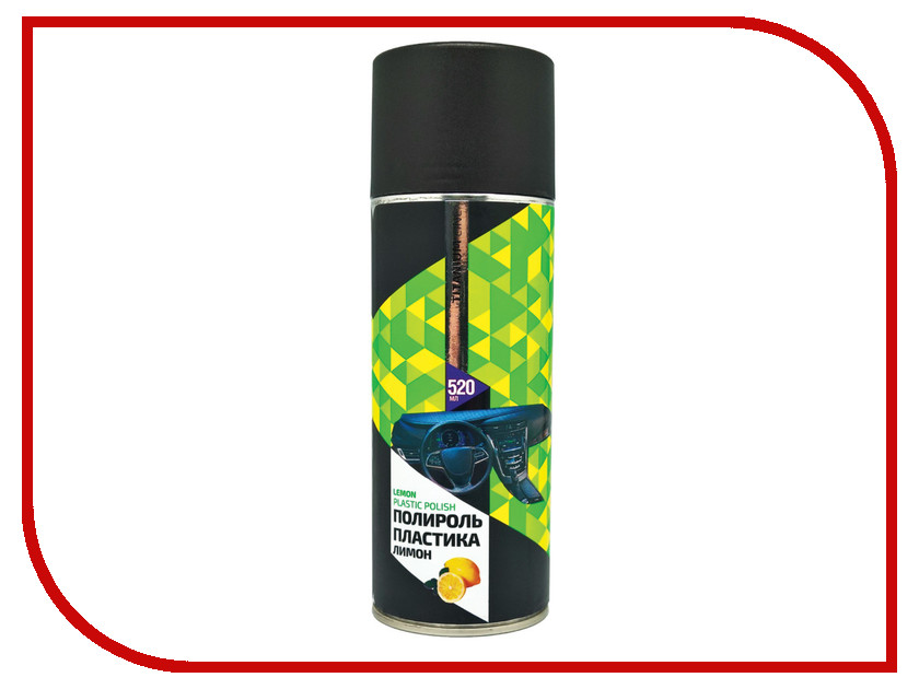 Аксессуар Sapfire Plastik Polish 520ml Лимон SBP-0008 - Автополироль пластика<br>