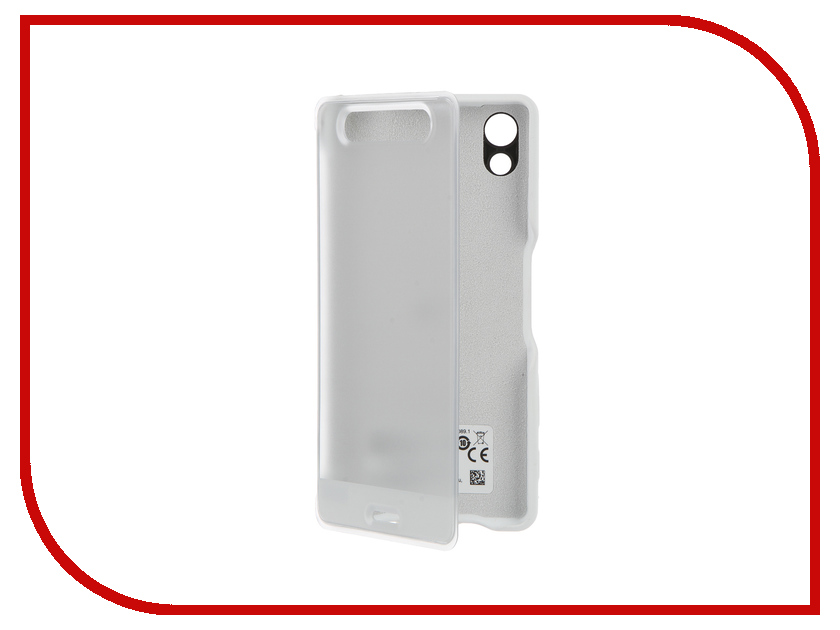 Аксессуар Чехол Sony Xperia X Style Cover Touch SCR50 White<br>