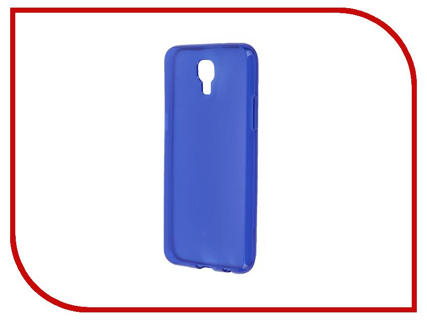 Аксессуар Чехол LG X View / X Screen iBox Crystal Blue<br>