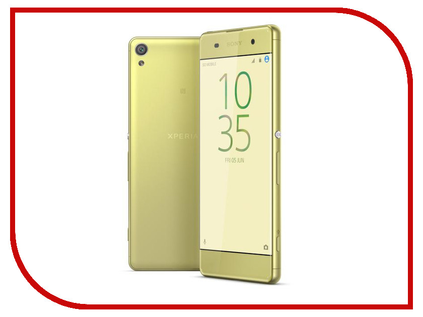 Сотовый телефон Sony F3111 Xperia XA Lime Gold<br>