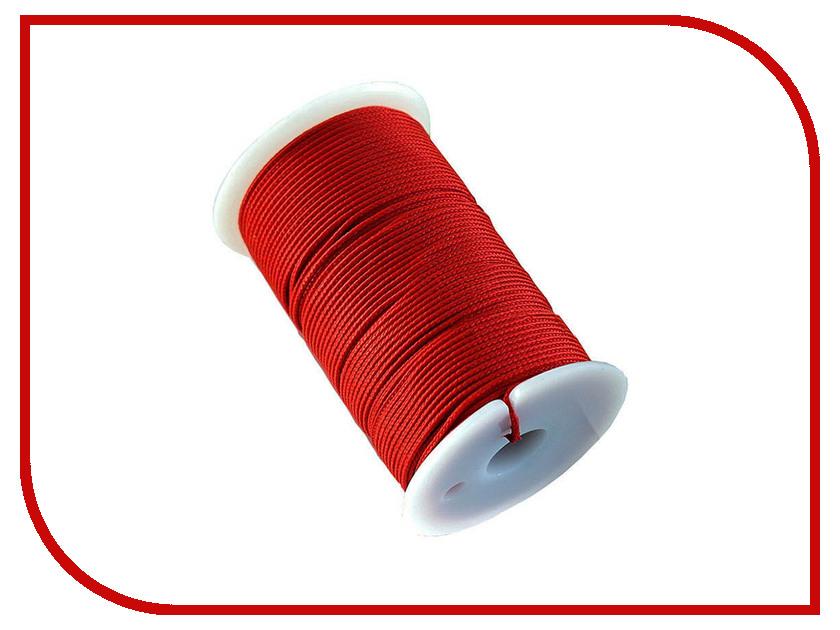 Шнур полиамидный Solaris S6301 1.2mm x 70m Red